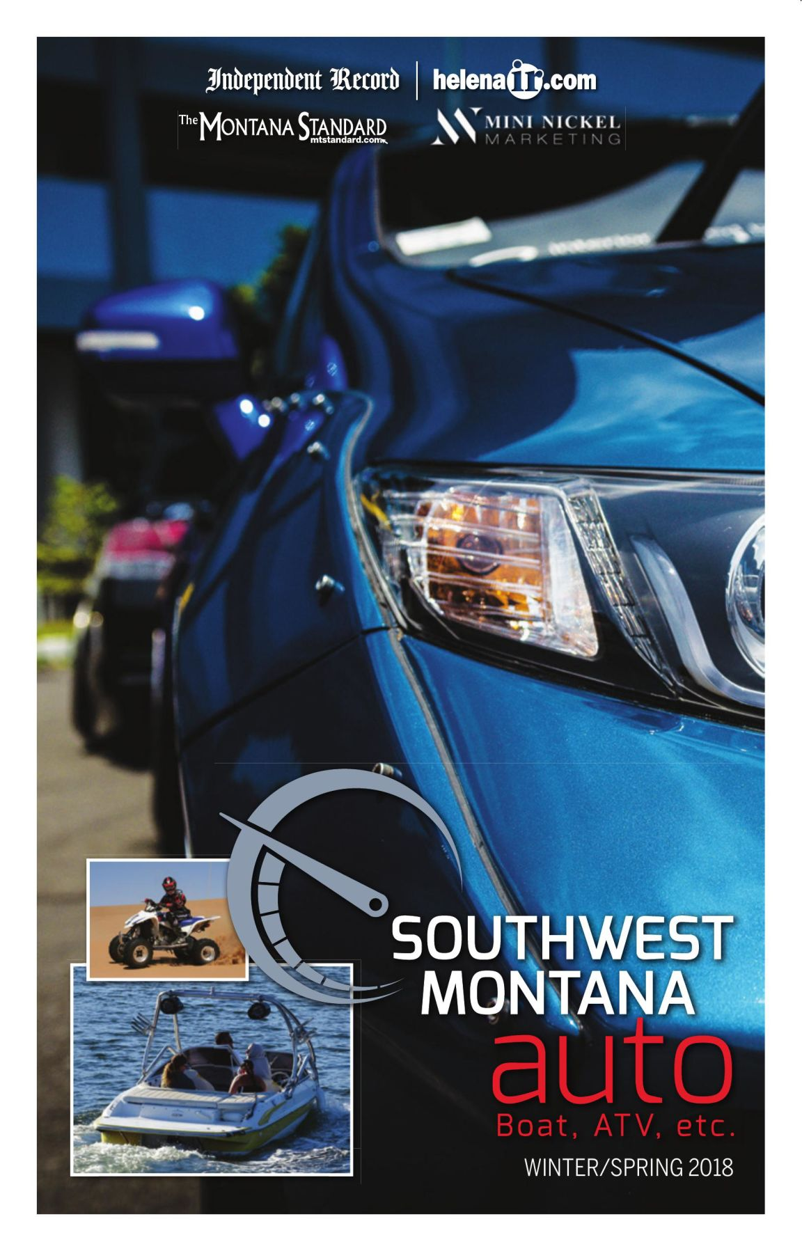 Southwest Montana Auto Guide - Winter/Spring 2018