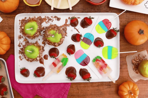 4 Yummy Recipes To Use Up Your Leftover Halloween Candy