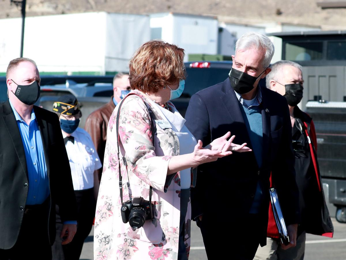 Veterans Affairs Secretary Denis McDonough tours SouthWest Montana vets home in Butte