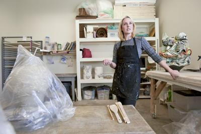 Archie Bray ceramicist's cyclical art a metaphor for her nomadic life