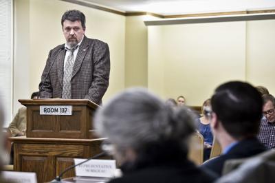 Rep. Greg DeVries (R-Jefferson City) introduces a bill
