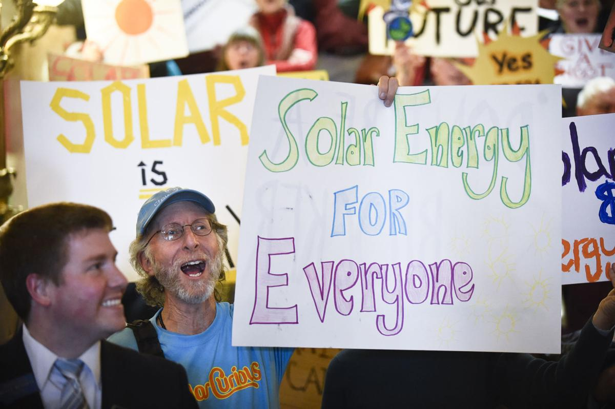 Solar Jobs and Energy Freedom Rally