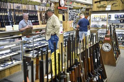 Capital Sports Gun Counter