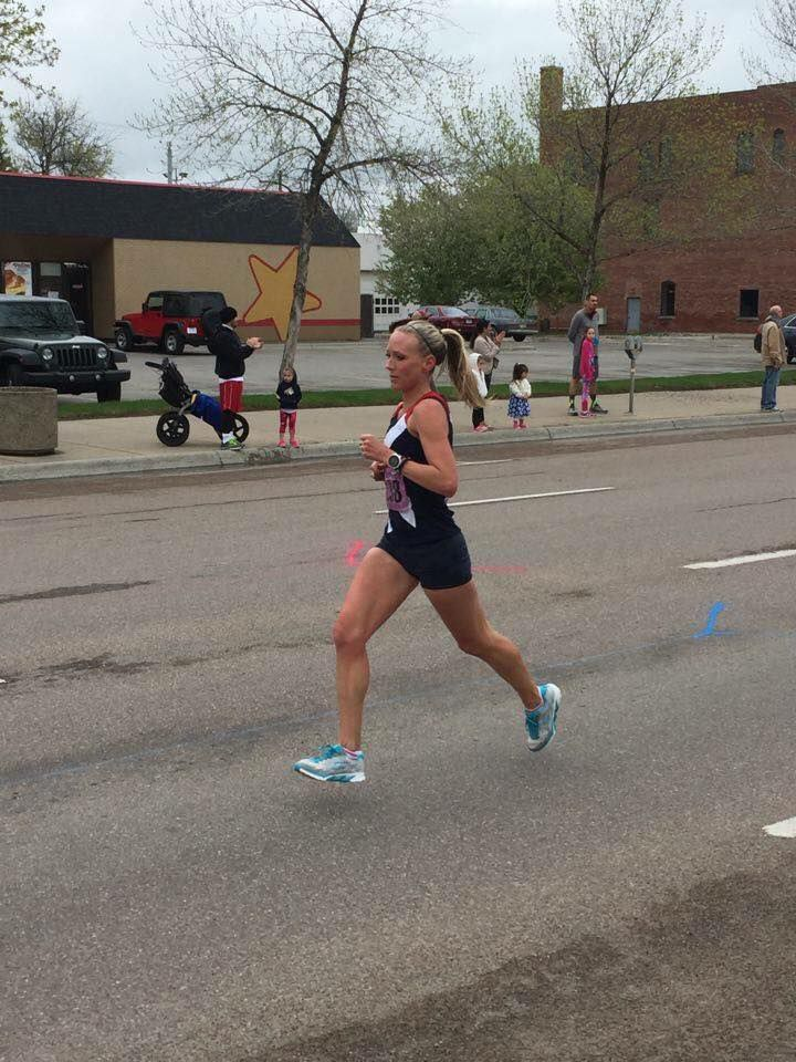 Heather Lieberg running photo