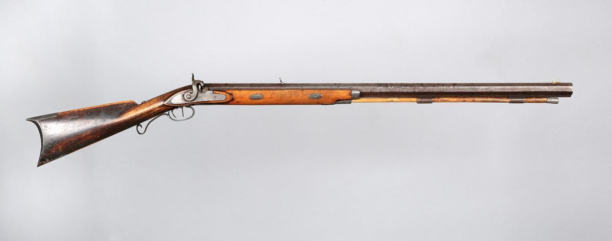 Jim Bridger's Hawken rifle.