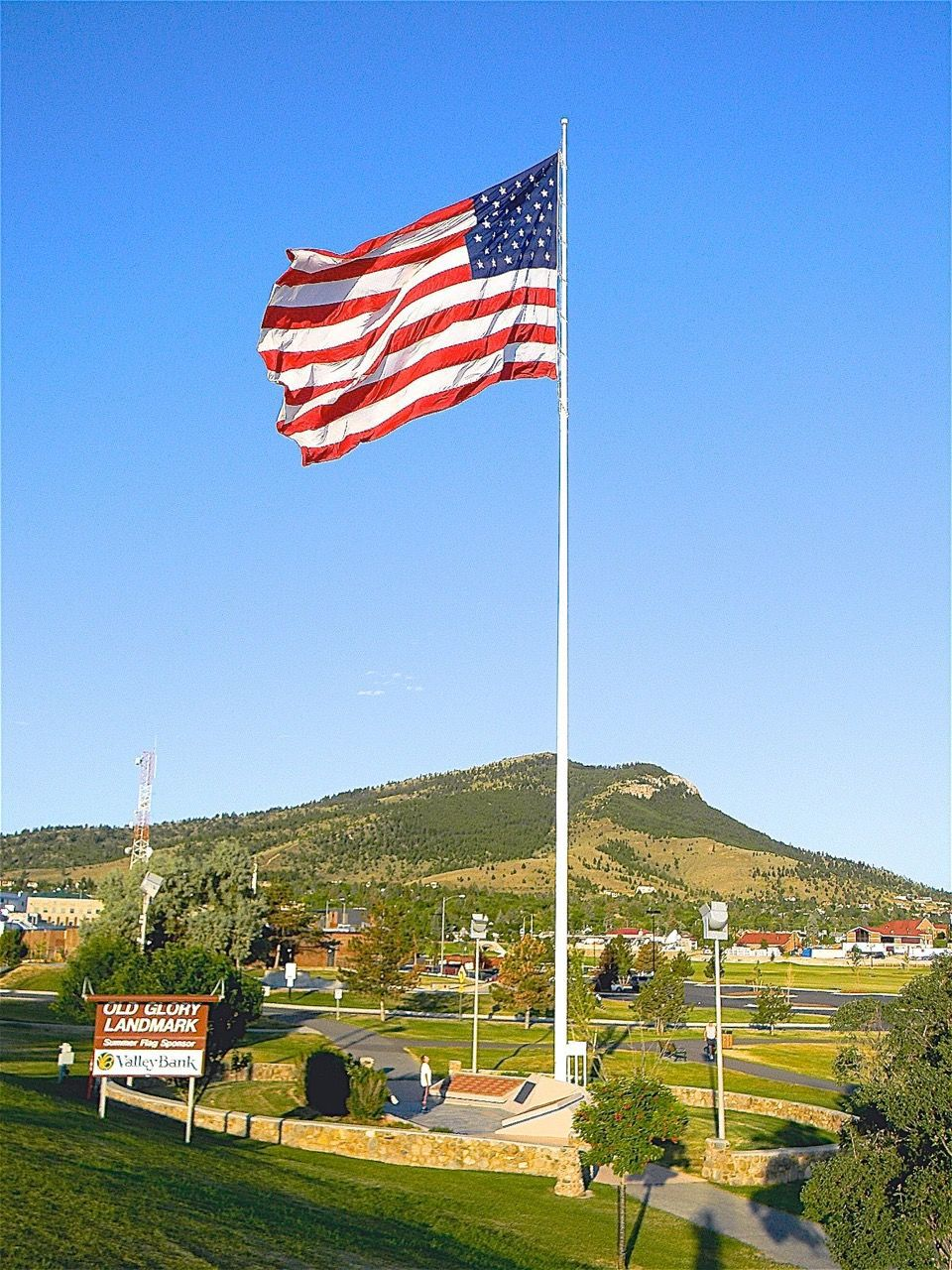 the Old Glory Landmark at Centennial Park (copy)