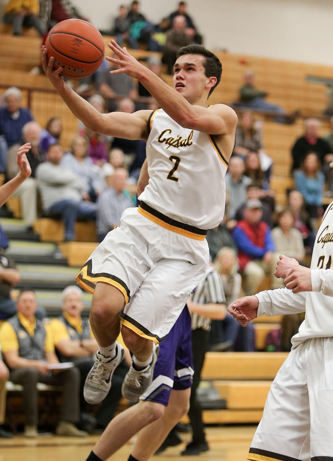 boys basketball; CHS vs Butte
