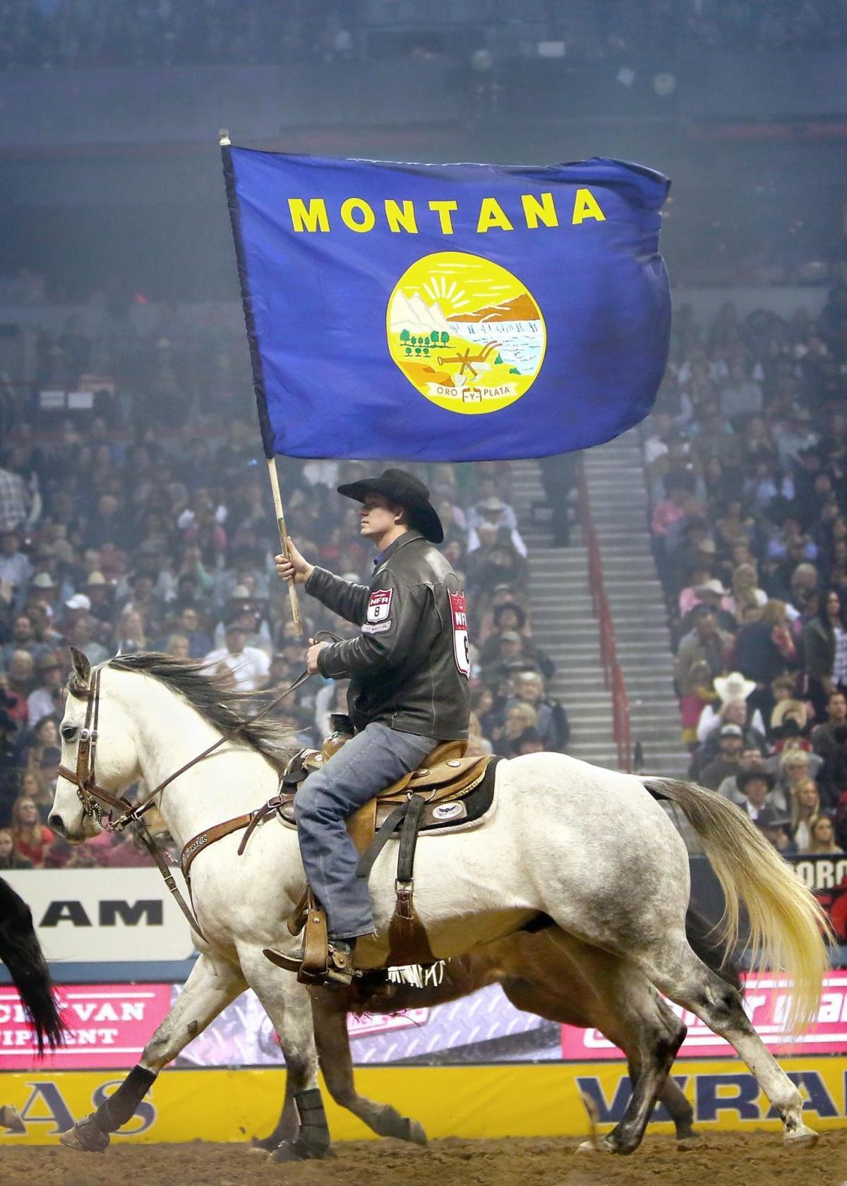 Helena S Erickson Is Flag Bearer For Montana At National