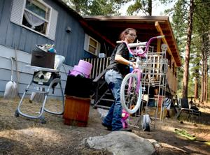 After 'stressful night,' Lolo Peak fire evacuees take stock