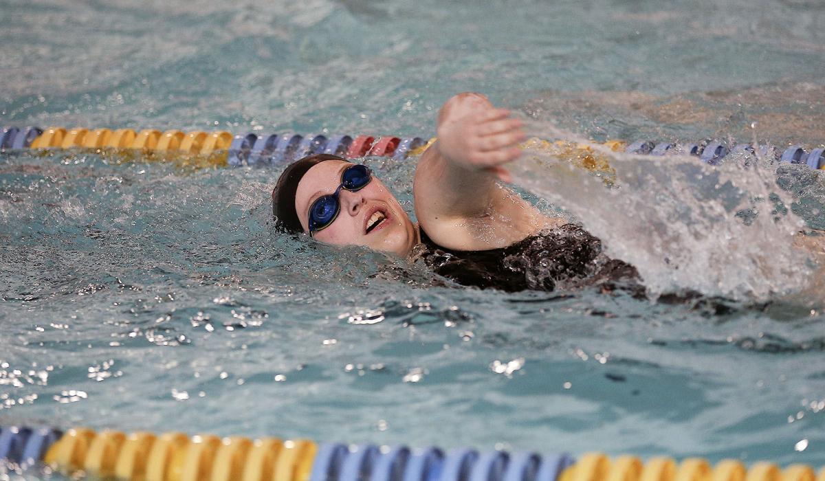swimming; crosstown