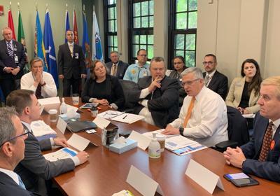 Sen. Jon Tester meets with national VA leadership