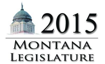 2015 Montana Legislature IR horizontal graphic logo icon