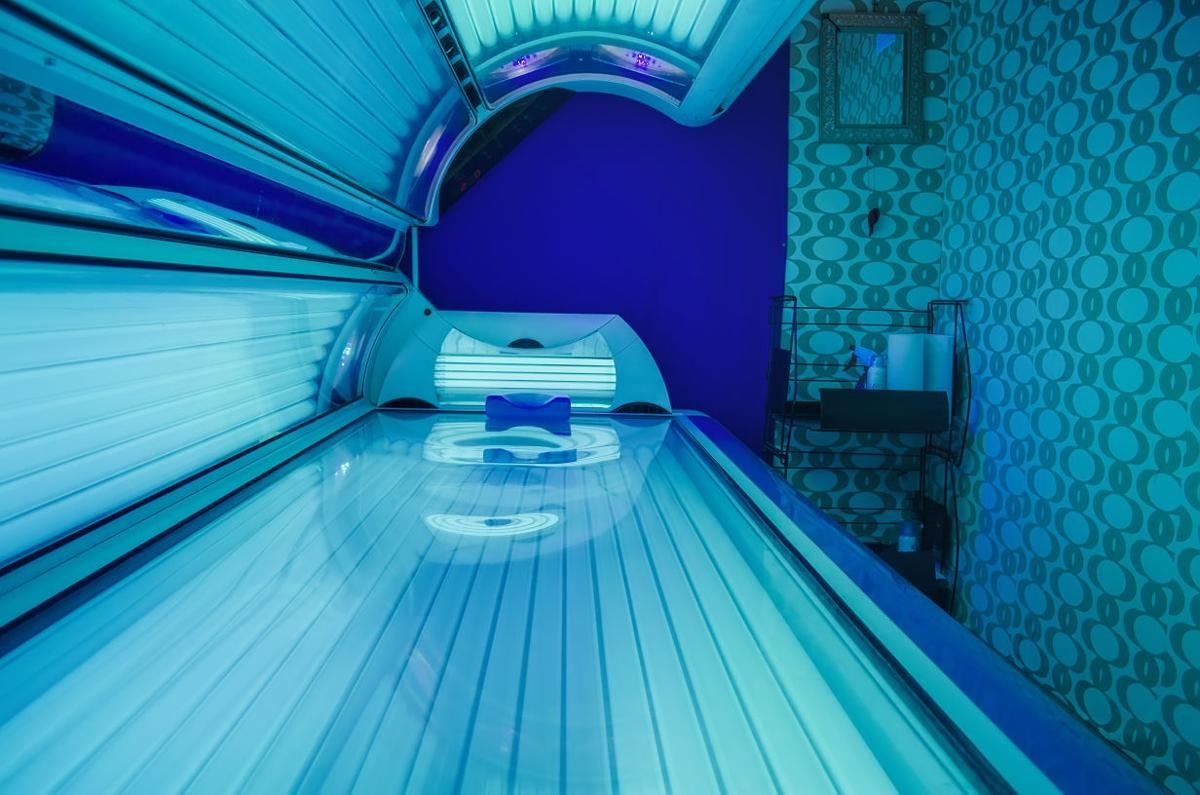 proposal to limit teen use of tanning beds compared to limits on