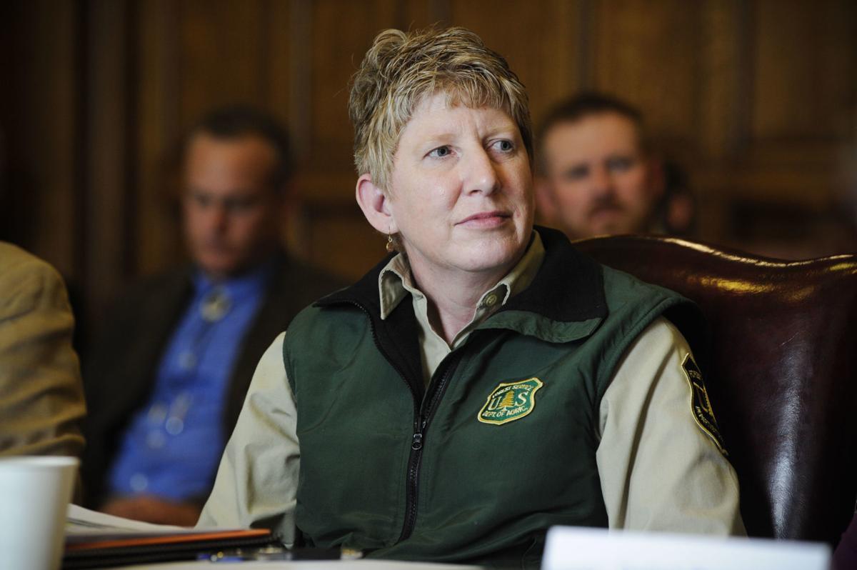 Regional forester Leanne Marten