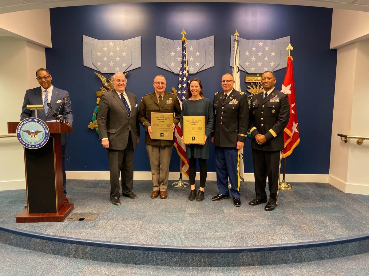 Prickly Pear and National Guard award
