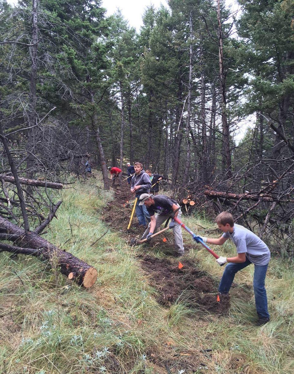 PPLT Trail construction