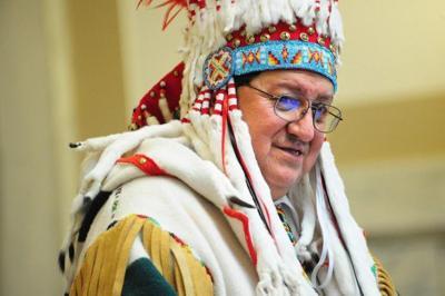 Former Blackfeet Nation Chairman Willie Sharp