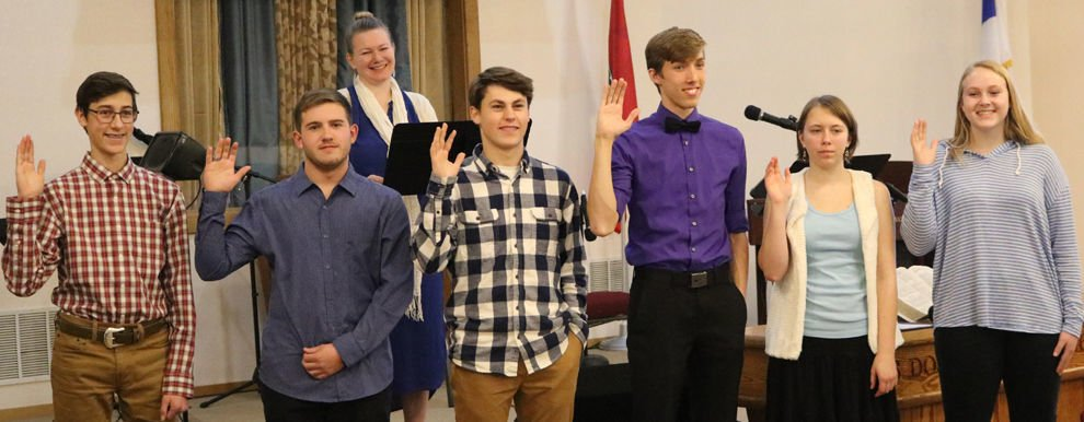 Helena Christian School inducts members into NHS