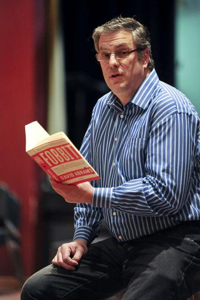 Fobbit author David Abrams reads at CHS