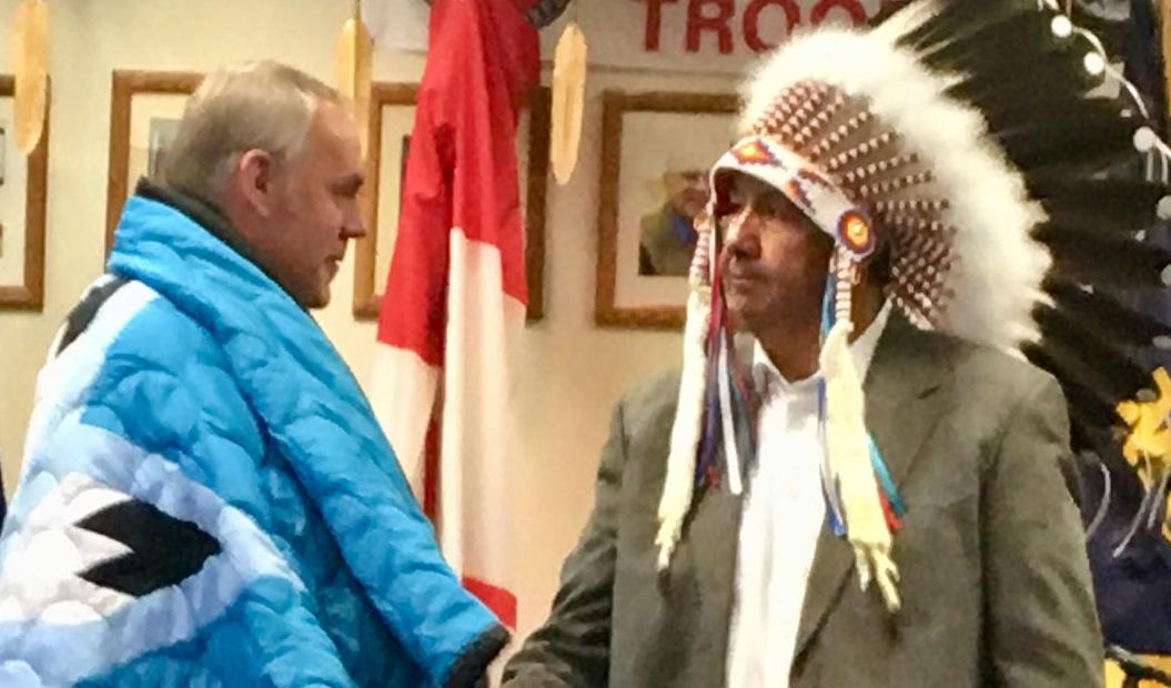 Zinke signs historic Blackfeet water rights settlement