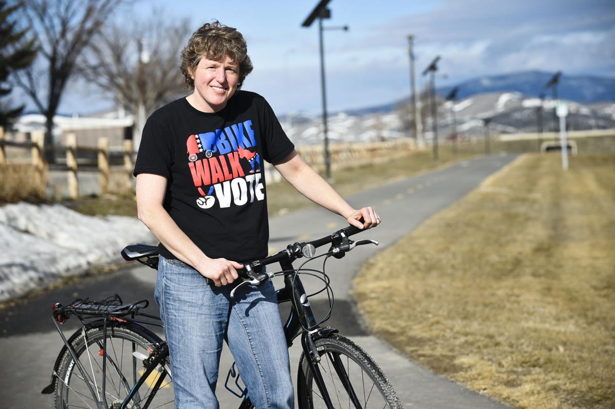 Melinda Barnes, Executive Director of Bike Walk Montana