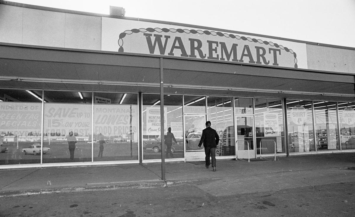Billings Waremart store, 1977