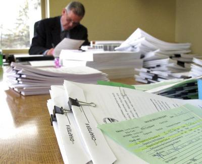 Stockpile of bills awaits action by governor