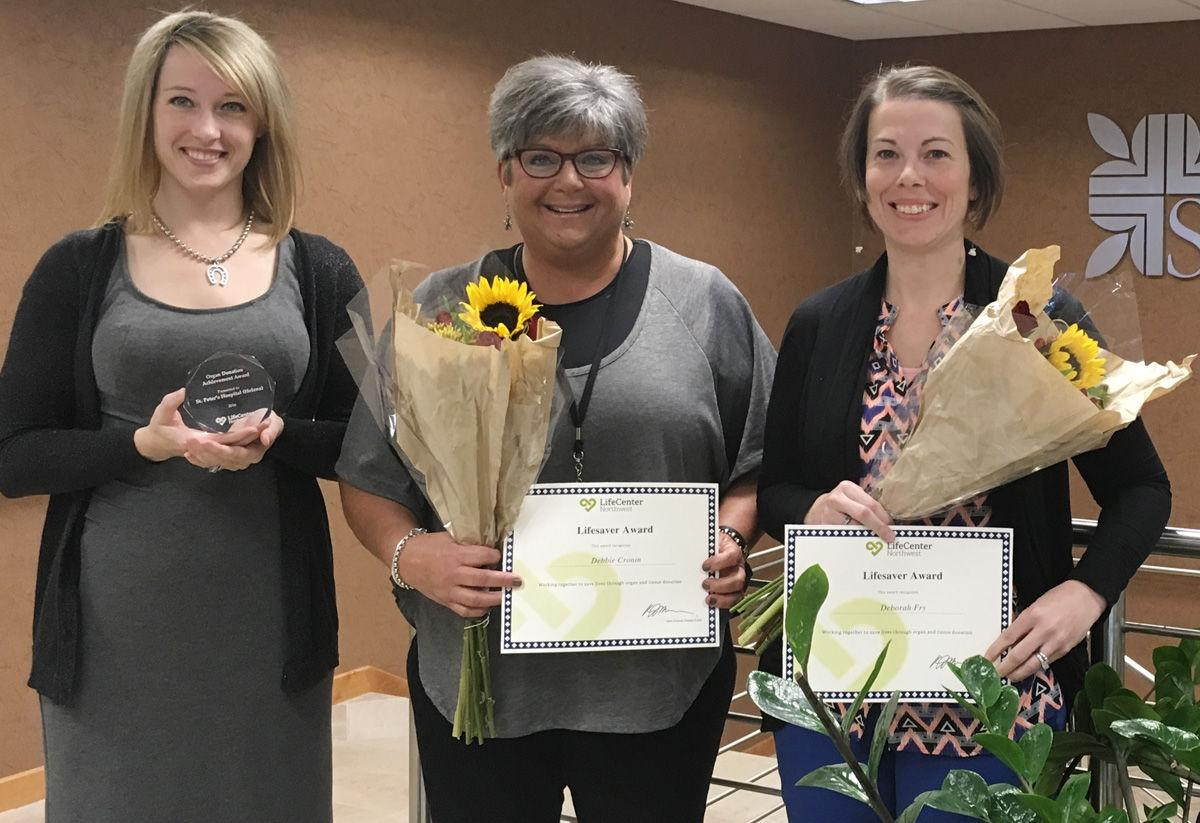 St. Peter's Hospital, nurses recognized