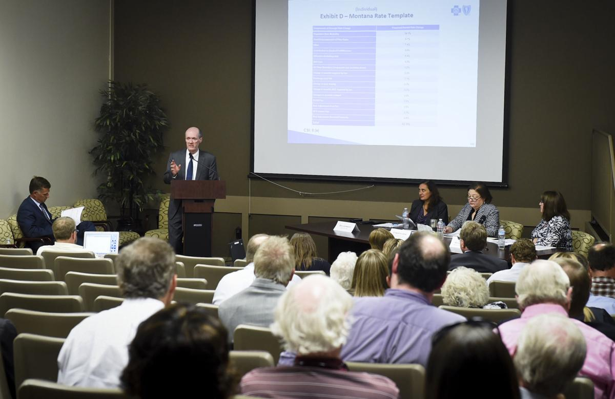 public hearing on proposed 2017 health insurance rate increases.
