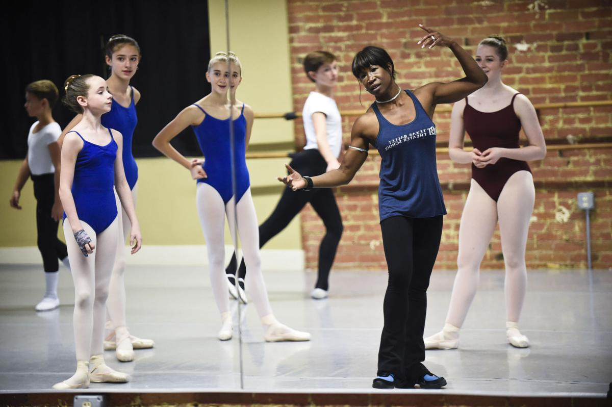 renowned houston ballerina stranded in helena uses extra time to