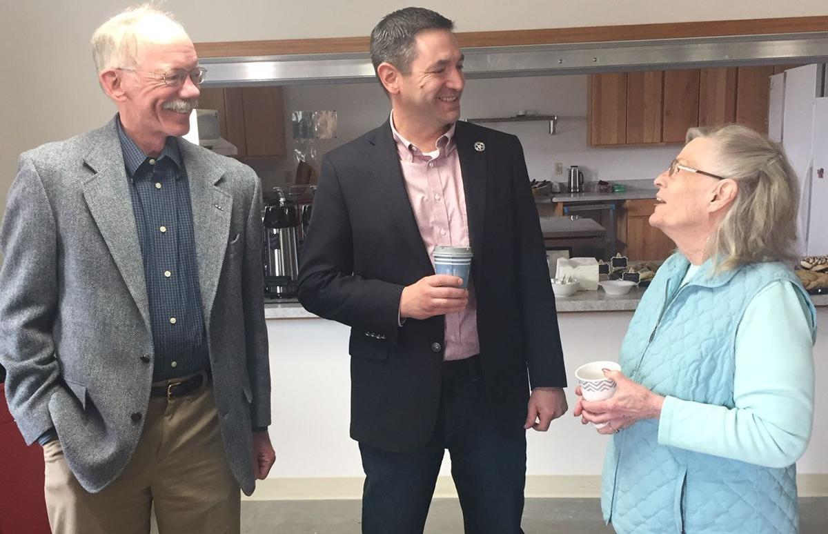 Officials talk in Boulder