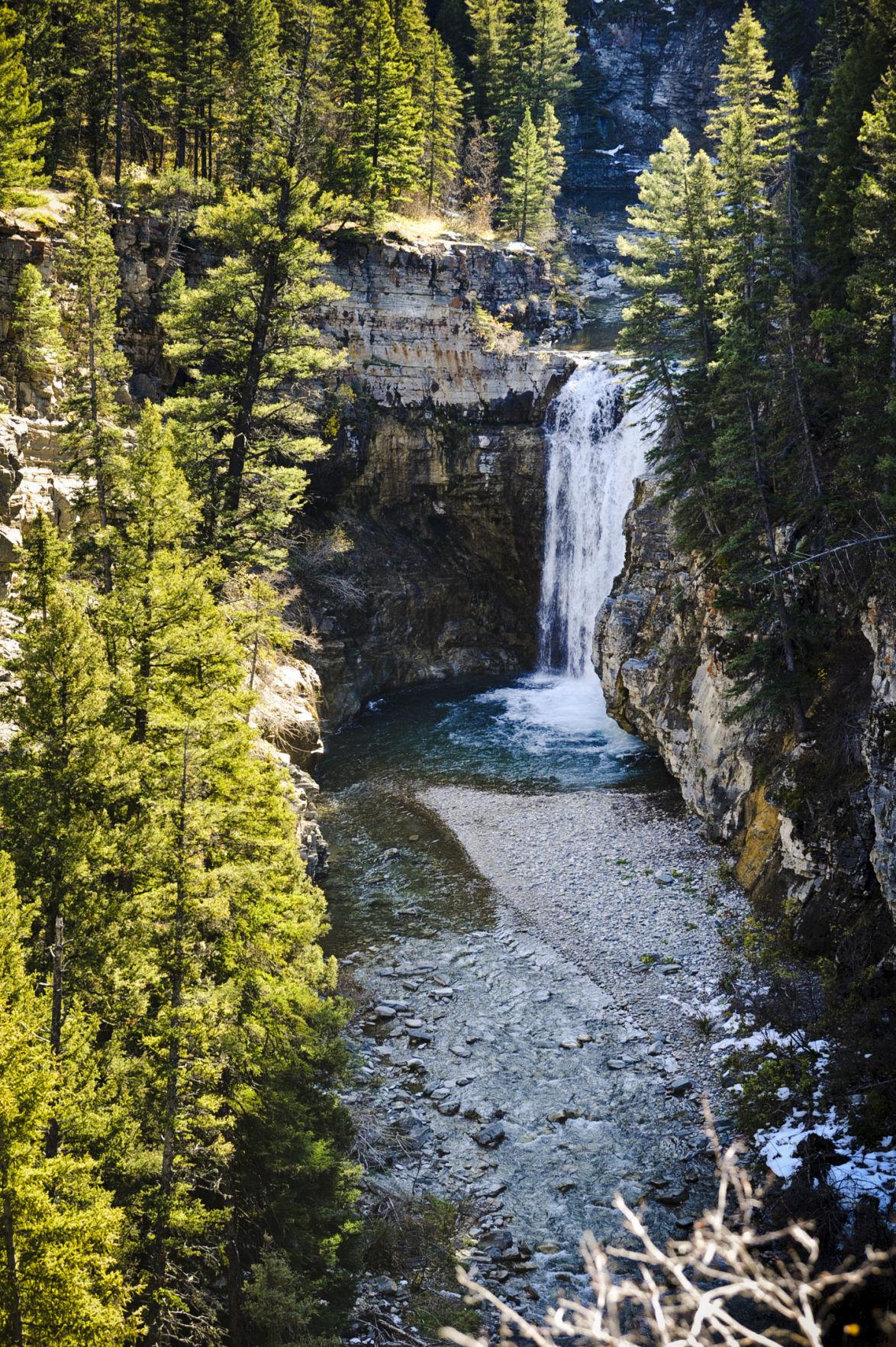 The Falls Creek waterfall