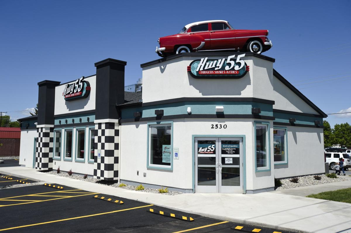 The diner, who's menu depicts that of a classic American diner,