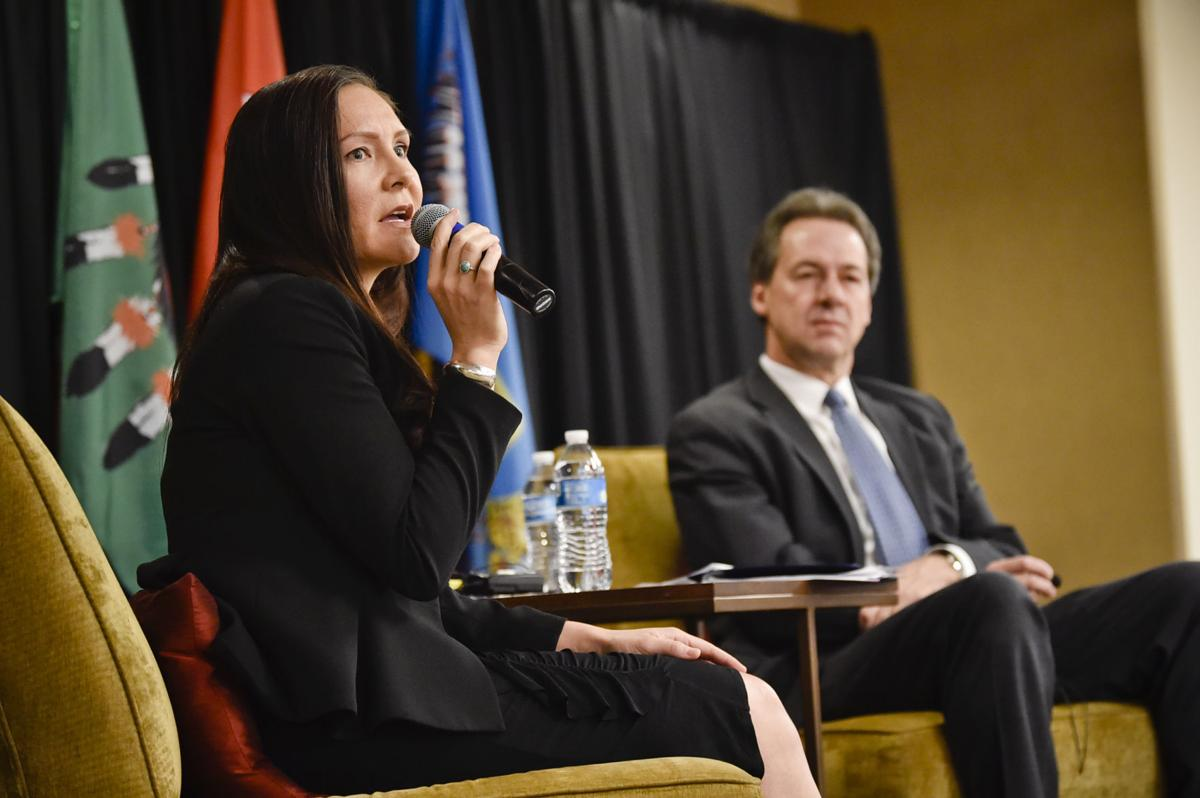 LeAnn Montes, attorney general for the Chippewa Cree Tribe