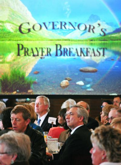 Attendees at the 53rd annual Prayer Breakfast