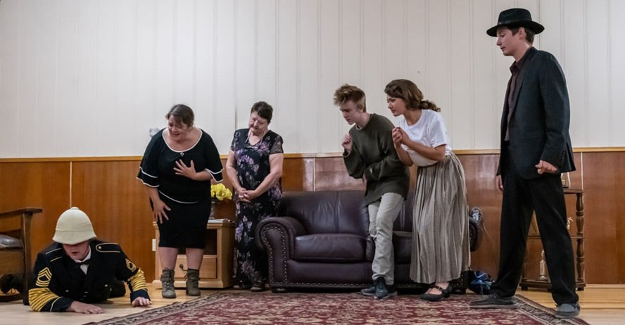 New Broadwater theater performs Brothers Grimm
