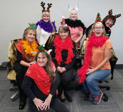 A group of some of the Top Hat Players that will perform at the Helena Avenue Theatre.