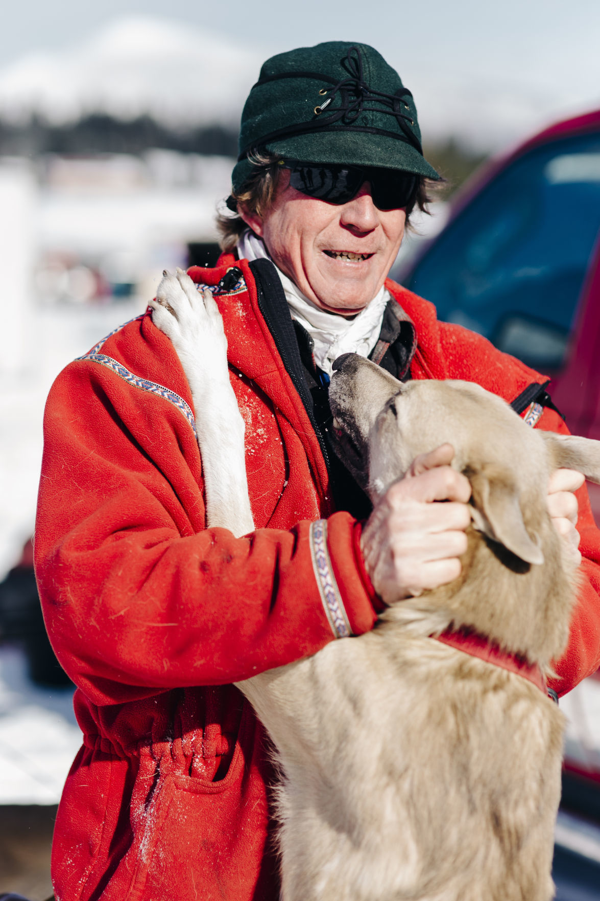 Musher Clayton Perry, 57, from Power, MT