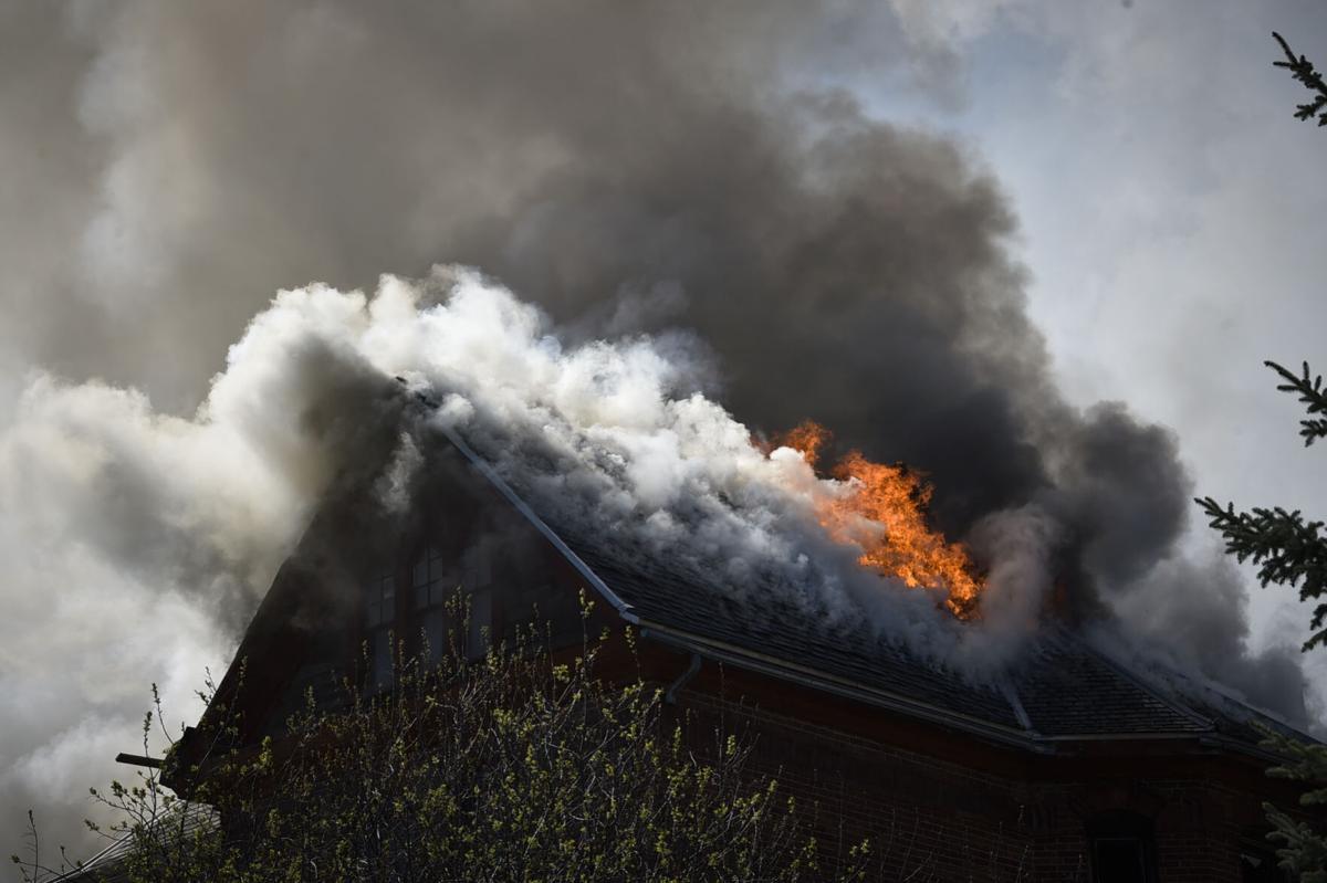 Lissner Mansion fire