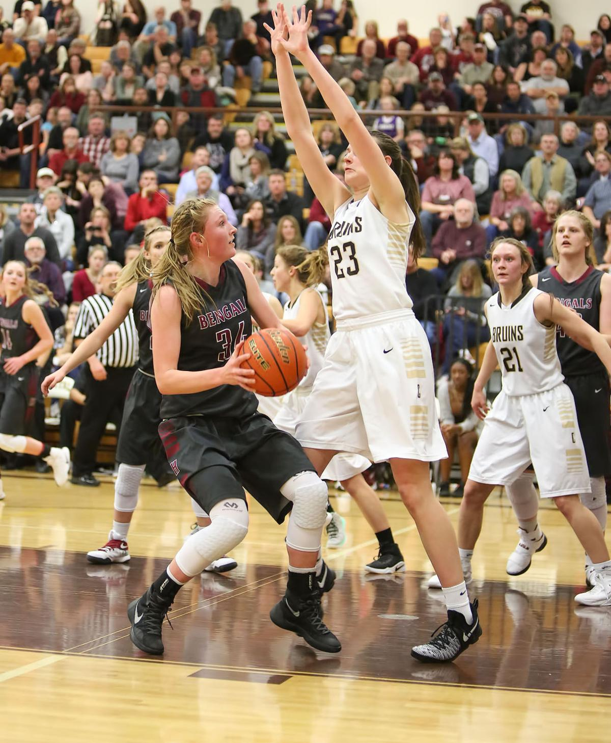 girls basketball; HHS vs CHS (copy)