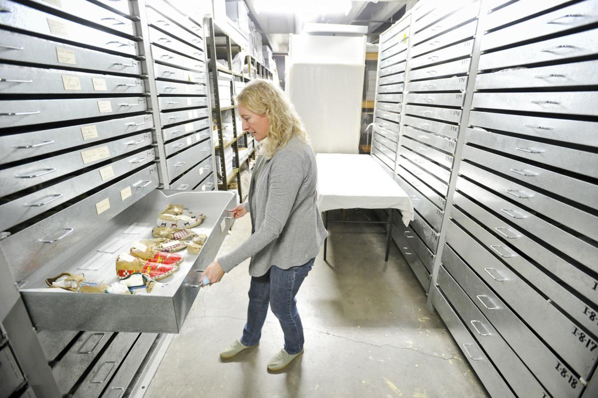 Historical Society curator Amanda Streeter Trum