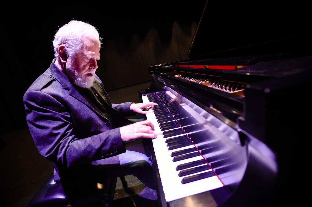 Pianist Philip Aaberg rehearses