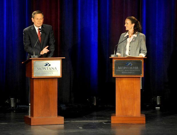 Daines/Curtis Debate