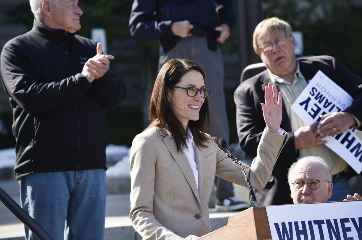 Whitney Williams announces her candidacy