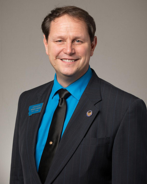 Rep. Derek Skees, R-Kalispell