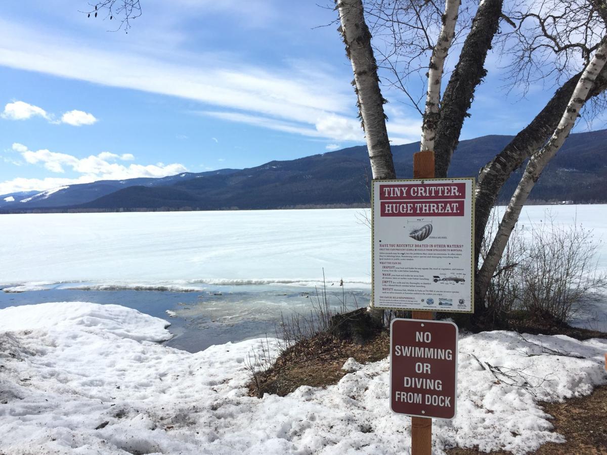 Swan Lake AIS Sign