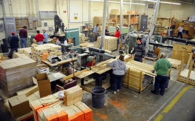 Helena Industries wood shop