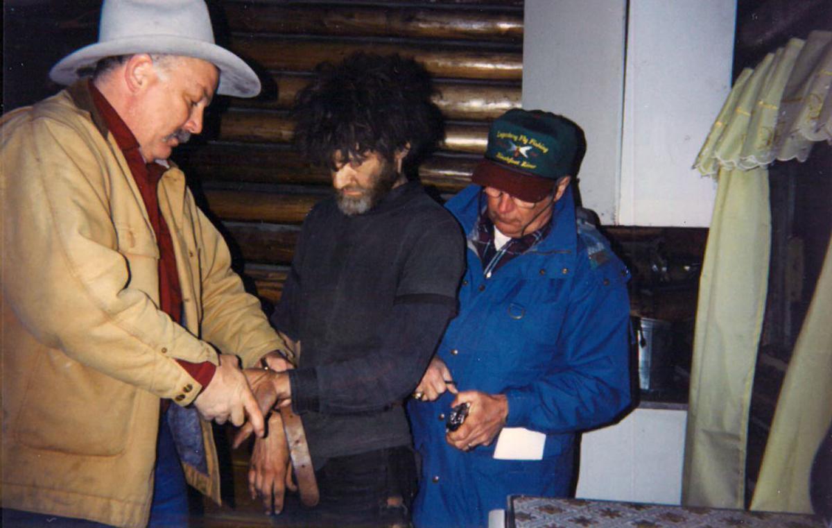 Unabomber arrest, April 3, 1996