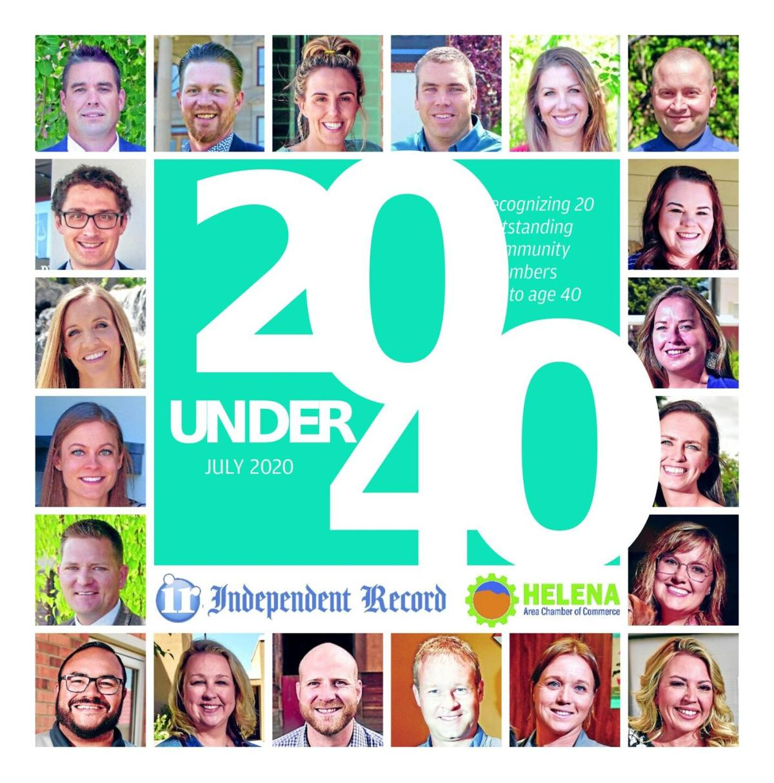 20 Under 40 July 2020