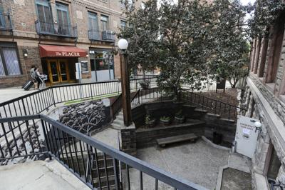 The area between the Sapphire Bar and Placer Building was the subject of a meeting yesterday to try to work out conflicts between patrons and residents.